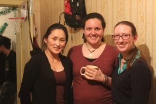 Bolortuya, Melinda and I !