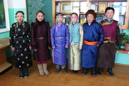 students wearing winter deels