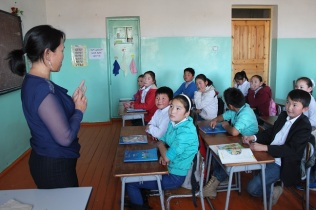 So many attentive students!