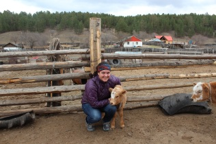 new calf and me