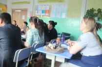 watching the practice teaching