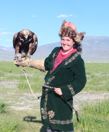 me with an eagle