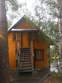 One of our hostels cabins